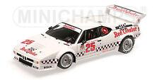1:18 Minichamps 1981 BMW M1 #25 RED Homard IMSA GP RIVERSIDE gangant limitée 504