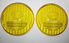 FOR PORSCHE 911 930 HOOD FROG EYE LIGHTS CIBIÉ TWO YELLOW GLASSES CIBIE 13-154