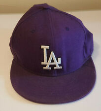 Authentic collection new york MLB LA hat original 58cm 7 1/4 Purple