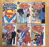NM+ to NM- SUPERMAN THE MAN OF STEEL 1 2 3 4 5 6 Complete 1-6 Set Lot DC 1986