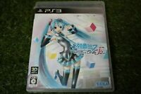 Used SEGA Hatsune Miku Project DIVA F 2nd Playstation 3 PS3 from Japan