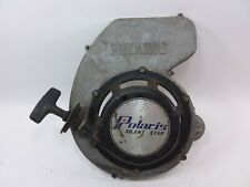 Vintage Polaris Snowmobile Star Engine Pull Start Assembly with fan cover WORKS