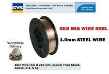 GYS FILO SALDATURA MIG acciaio BOBINA 1.0MM -200 mm 5KG SPECIALE thle CUSI 3