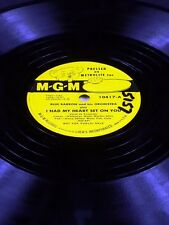 MGM 10417 Blue Barron I HAD MY HEART SET ON YOU / THERE'S YES! YES!  78 E-