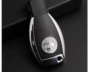 Mercedes AMG Affalterbach Emblem 2x Aluminium / 3M