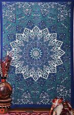 Indian Tapestry Wall Hanging Psychedelic Mandala Throw Hippie Gypsy Bohemian