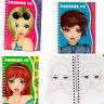 Girls Fashion Activity Book Style Hair Design Book  Make-up Fun Creative