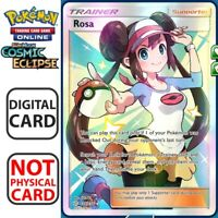Rosa Full Art 236/236 Cosmic Eclipse Pokemon TCG Online Digital.