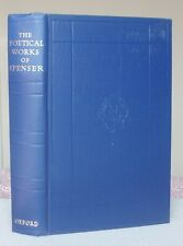 THE POETICAL WORKS OF EDMUND SPENSER Oxford Hardback