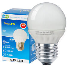 4w LED Golf Ball Warm White Edison ES E27 Screw 300 Lumens replaces Incandescent