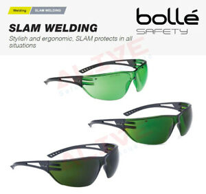 Bolle SLAM Welding Safety Glasses Spectacles for Grinding Brazing Oxy-Cutting