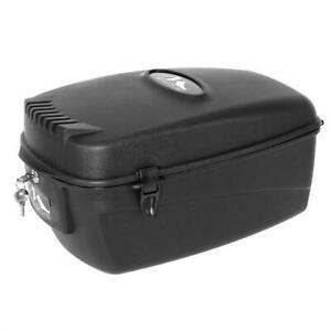 M-Wave Fahrradbox Fahrradkoffer Top Case 17 Liter abschließbar Gepäckträger Box