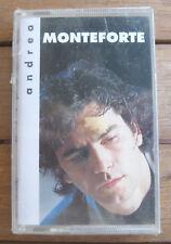 ANDREA MONTEFORTE Andrea Monteforte (1992) MC TAPE ORIGINALE NUOVA SIGILLATA