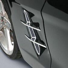 Corvette Fender Blades Billet Chrome (Dual Blades) : C6