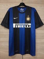 Inter Milan Internazionale 2012-2013 Home Football Soccer Nike Shirt Jersey XL