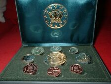 2003 UK Euro Pattern Set coin collection 9 pieces
