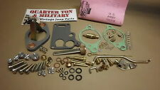 Jeep Willys MB GPW CJ2A CJ3A Carter WO Carburator master kit G503
