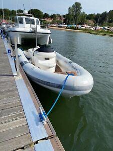 Pascoe Rib 5.9m shuttle boat (Diesel jet)