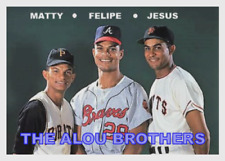 "FELIPE MATTY JESUS ALOU 67 ""THE ALOU BROTHERS"" ACEO ART CARD BUY 5 GET 1 FREE"