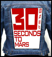 30 SECONDS TO MARS --- Giant Backpatch Back Patch