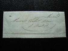 FRANCE - lettre 1843 (non oblitere) (cy35) french