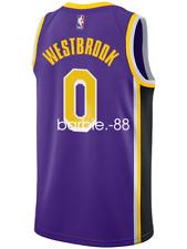 Los Angeles Lakers Russell Westbrook #0 Nike Swingman Jersey Statement Edition