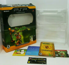 Sony PSP Playstation Portable Handheld System BOX ONLY And Inserts Game/Movie