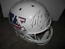 Washington Huskies JACOB EASON signed Full Size Helmet