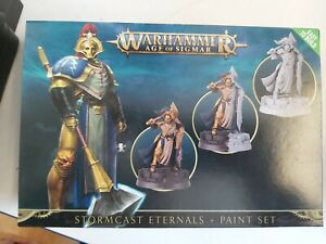 Stormcast Eternals and Paint Set 60-10-60  Warhammer Age of sigmar Damaged box