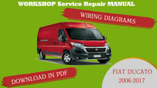 WORKSHOP Service Repair MANUAL FIAT DUCATO 2006-2016+WIRING (PDF Email Delivery)