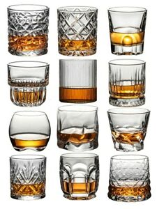 New and Old Fashioned Whiskey and Scotch Glasses,Style Glassware for Bourbon/Rum
