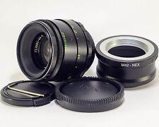 HELIOS 44-2 F2 58mm Sony Alpha Nex E-mount lens with M42-Nex adapter