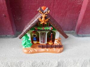 NOS Vintage GERMAN Bambi BAROMETER WEATHER HOUSE BOX #32 w/box (S6)