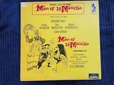 Man Of La Mancha cast album (LP 1973) Richard Kiley, Joan Diener, KRS-5505