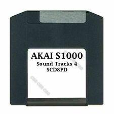Akai S1000 100MB Zip Disk Sound Tracks 4 SCD8PD