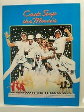 CAN'T STOP THE MUSIC Movie Souvenir Program VILLAGE PEOPLE / BRUCE JENNER 1980