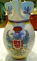Spanish Art Pottery Hand Made TOLEDO Hand Painted Sangria Pitcher Jug - Spain