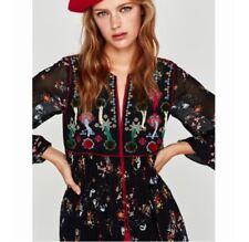 07986a8f Zara Long Sleeve Shift Dress Dresses for Women | eBay