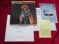 NEIL DIAMOND Hot August Night 2-LP-Set MFSL audiophile  Vinyl:mint(-) / Cover:ex