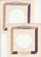 Dunhill Records- 2 Original 1960's 45 Record Company Sleeves