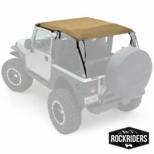 1997-2006 Jeep Wrangler TJ Safari Extended Bikini Top in Spice Tan 93617