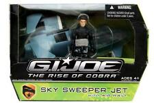 G.I.Joe The Rise of Cobra Sky Sweeper Jet with Air Raid