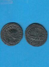 Gertbrolen ALLECTUS  (293-296) Antoninien de bronze Londres