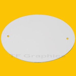 Custom Personalised Oval Door Plaque - Door Sign Door Number Sign Gate Number