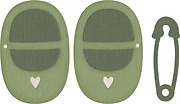 "Quickutz BABY SHOES & PIN 4""x4"" Die Cutter"