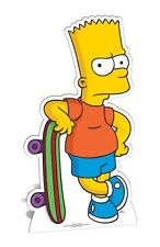 Bart Simpson The Simpsons Cardboard Fun Cutout/Figure 93cm Tall - For your Party