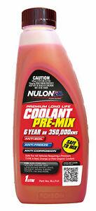 Nulon Long Life Red Top-Up Coolant 1L RLLTU1 fits Toyota Coaster 4.0 TD