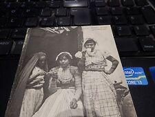coffee afficionado. EARLY POSTCARD 1900 ERA   barista  ARAB GIRLS @ CAFE SHOP