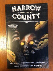 HARROW COUNTY VOL 3: SNAKE DOCTOR by CULLEN BUNN & TYLER CROOK Dark Horse Comic
