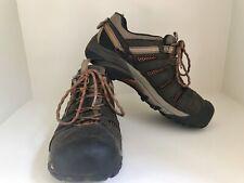 Keen Men's Steel Toe Shoe Size 8 EUC Brown